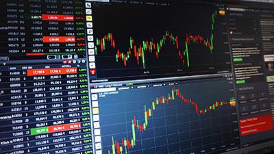 Торговля на бирже - диаграммы