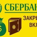 Вклад Сбербанк