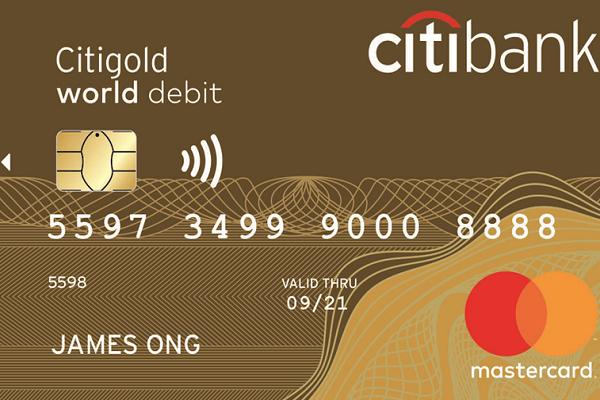 Citibank Mastercard Gold
